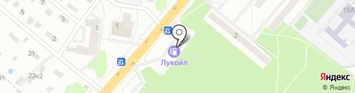 АЗС ЛУКОЙЛ на карте Фрязино