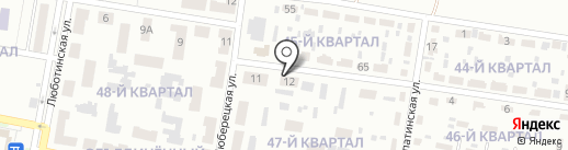 Меркурий на карте Макеевки
