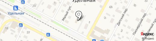 Парикмахерская на карте Удельной