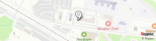 Магазин бытовой химии на карте Щёлково