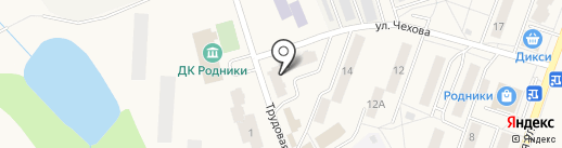Родники на карте Родников