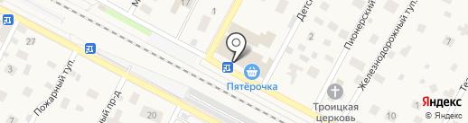 Реин Дир на карте Удельной