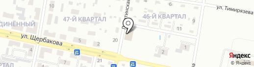Поляна на карте Макеевки