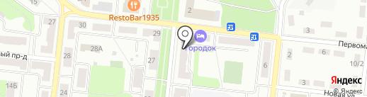 Город на карте Фрязино