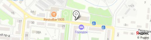 Банкомат, Фондсервисбанк на карте Фрязино