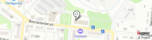 Факел на карте Фрязино