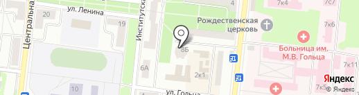 Звезда, ЖСК на карте Фрязино