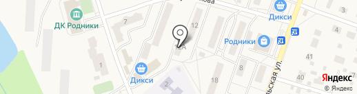 Родниковская амбулатория на карте Родников