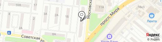 ЗАГС г. Фрязино на карте Фрязино