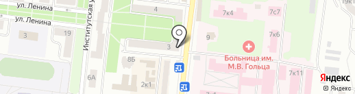 Платежный терминал на карте Фрязино