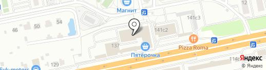 Контур на карте Балашихи