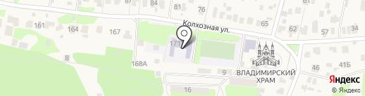 Основная общеобразовательная школа №16 на карте Быково