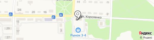 ОЩАДБАНК, ПАО на карте Моспино