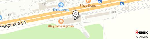 Дачник на карте Балашихи