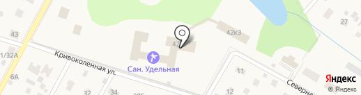 Удельная на карте Удельной