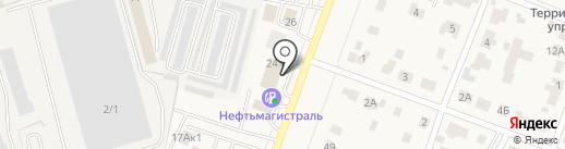 Магазин одежды и бижутерии из Белоруссии на карте Родников