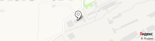 Моспинское углеперерабатывающее предприятие на карте Моспино