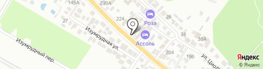 Лима на карте Геленджика