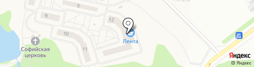 Жилой дом №5 на карте Балашихи