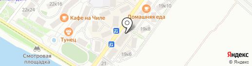 Евромода на карте Геленджика