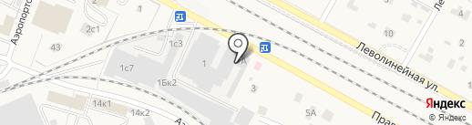 Компания по продаже и доставке строительных материалов на карте Быково