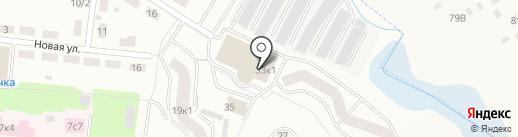 Колибри на карте Фрязино