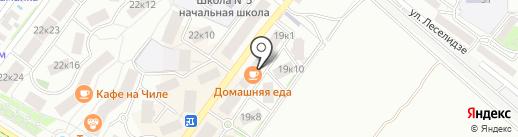 Массажный салон на карте Геленджика