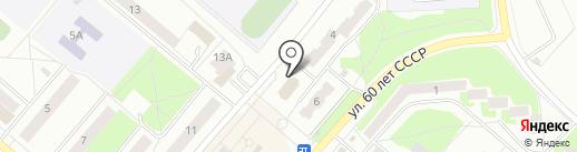 Фрязинская теплосеть, ЗАО на карте Фрязино