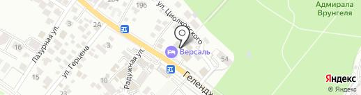 Неолит на карте Геленджика