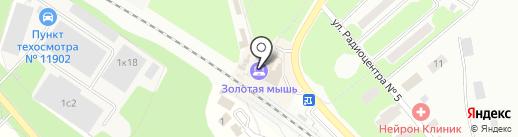 Компьютерный магазин на карте Щёлково