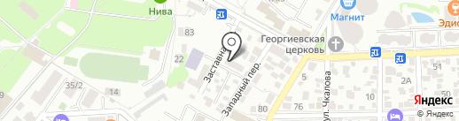 Велоголик на карте Геленджика