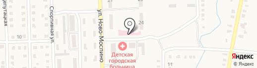 Городская клиническая больница №12 на карте Моспино