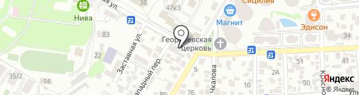 ПРОГРЕСС Геленджик на карте Геленджика