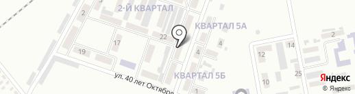 Визитка на карте Макеевки