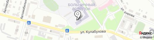 Макеевское высшее профессиональное училище на карте Макеевки