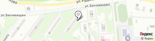 Магазин продуктов на карте Щёлково