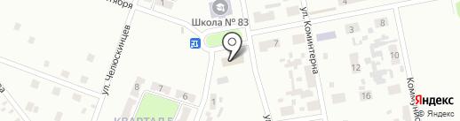 Советский районный военный комиссариат г. Макеевки на карте Макеевки