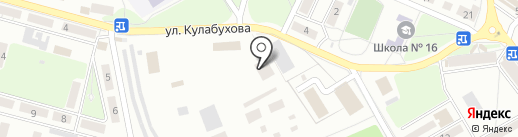 Расточка на карте Макеевки