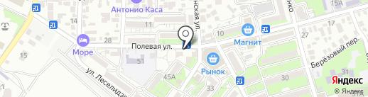Адвокатский кабинет Гаврикова А.А. на карте Геленджика