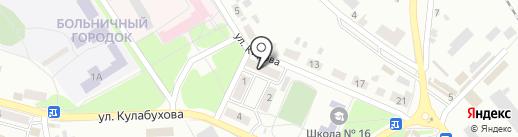 Мастерская по ремонту обуви на Трестовской площади на карте Макеевки
