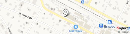 Магазин женской одежды больших размеров на карте Быково