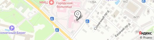 Геленджикский противотуберкулезный диспансер №23 на карте Геленджика