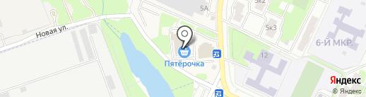 Модуль на карте Жуковского