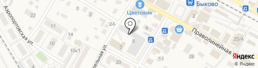 Быковское потребительское общество на карте Быково