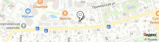 Финансовая группа Сберегательный Союз, КПК на карте Геленджика