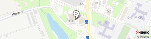 Дилижанс на карте Жуковского