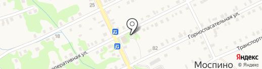 Автовеломотозапчасти, магазин на карте Моспино