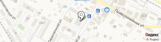 Мяско на карте Быково