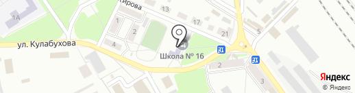 Макеевская общеобразовательная школа I-III ступеней №16 на карте Макеевки