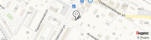 Четыре лапы на карте Быково